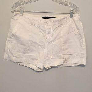White CK Short shorts